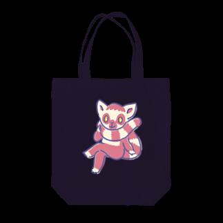 mochuqのワオキツネザル Tote bags