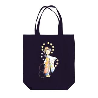 五花街の京舞妓 第一弾 Tote bags