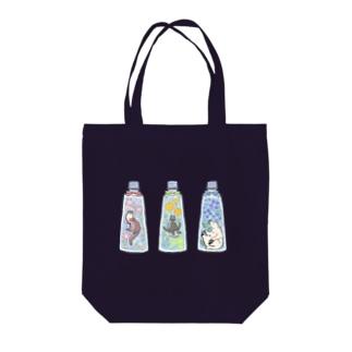 ハーバリウム×いきもの Tote bags