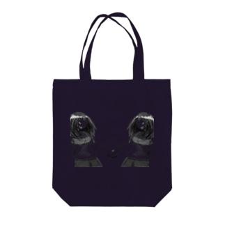 ヤマナミヤのW Tote bags