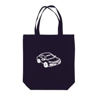 HONDA CIVIC SEDAN 風 (nega) Tote bags