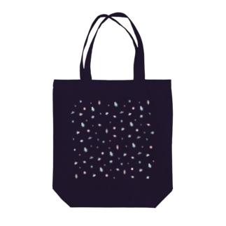 小さな宇宙 クリア Tote bags
