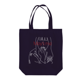 Mey's meのcigarette logo Tote bags