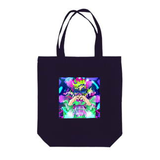 gajigajilandのSpace DJ Tote bags