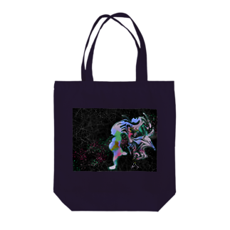 owlbeak5678の生命と宇宙 Tote bags