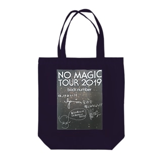 back number Tote bags