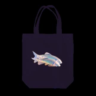 hananico***のかわいいオイカワ Tote bags