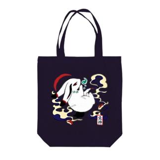 守護神「兎神様」 Tote bags