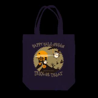aliveONLINE SUZURI店のだいきちハロウィン Tote bags