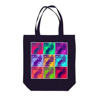 SAIGO-KEN Tote bags
