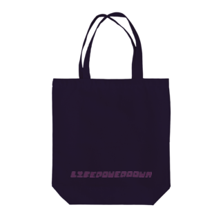 my idealのlifepowerdown シリーズ Tote bags