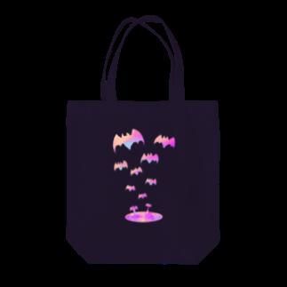 つちのこの蝙蝠の湖 Tote bags