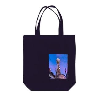 通天閣 Tote bags