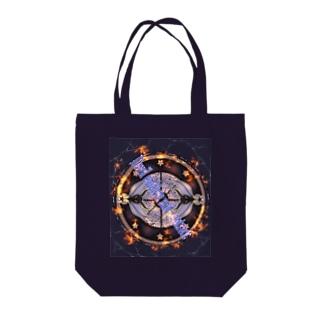 悪魔の紋章と契約 Tote bags