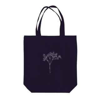 カスミソウ(white) Tote bags