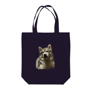 シベリアンハスキー・ホレス Tote bags