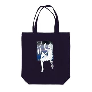 ドリームキャッチャー Tote bags