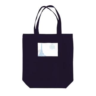 Paris_POSTCARD Tote bags