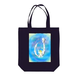 幸運の釣り針✨ Tote bags