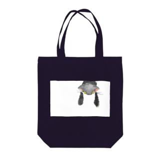 ぶらーん子猫 Tote bags