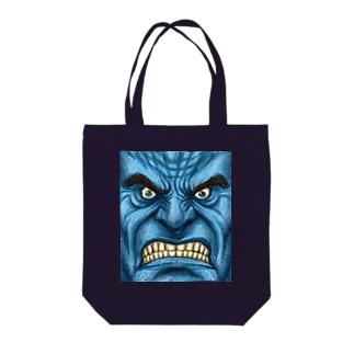 怒り心頭に発する Tote bags