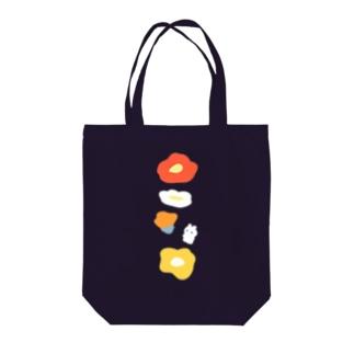 うさぎとポピー Tote bags