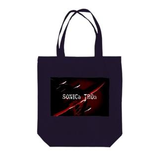 【SONICa TROn】 Orange Air シリーズ Tote bags