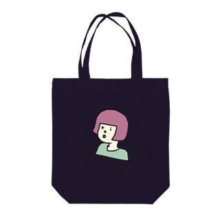okappa riko さくらもちカラー Tote bags