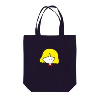 女の子A Tote bags