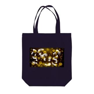 キラキラ ラグジュアリー Tote bags