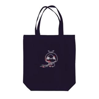 クレイジー闇うさぎ(証拠隠滅-白線-) Tote bags