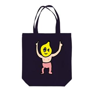 はちゃどん Tote bags