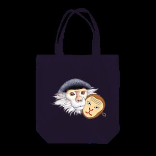 Leee_sanのアカアシドゥクラングール Tote bags
