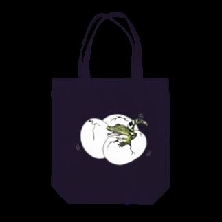 Leee_sanの子ワニ Tote bags
