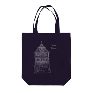 イトシュタイン・キリンガーハウス柄のトートバッグ Tote bags