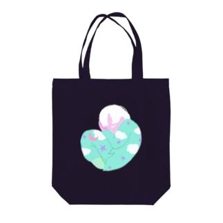夢の中 Tote bags