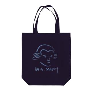 モーツァルト Mozart Tote bags