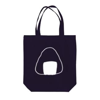 おにぎり(白) Tote bags