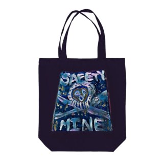 safety Mine Tote bags
