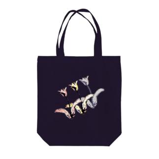 チューリップ🌷🌷🌷 Tote bags