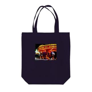 真夜中のメリーゴーランド Tote bags