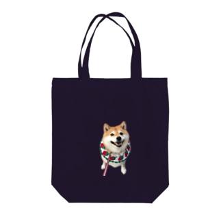 いちごハナちゃん Tote bags