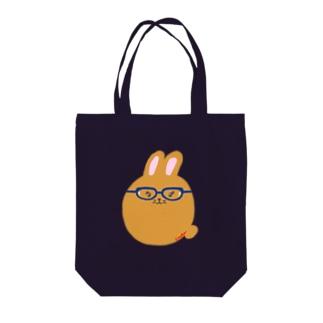 研究所のうさぎ Tote bags