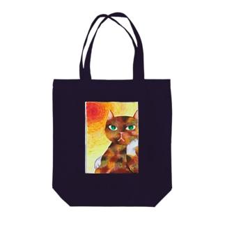 コケねこさんと情熱 Tote bags