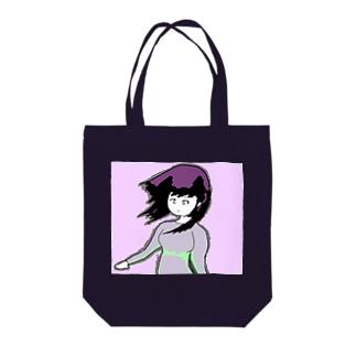 ナウ・ガール67 Tote bags