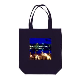 後楽園2019春ライトアップ Tote bags