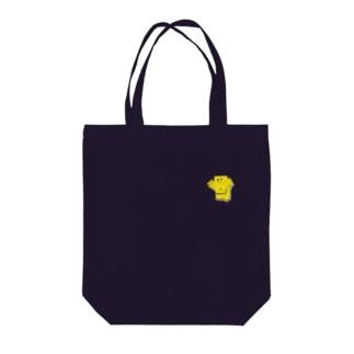黄色くん Tote bags