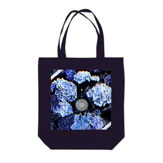 紫陽花トート Tote bags