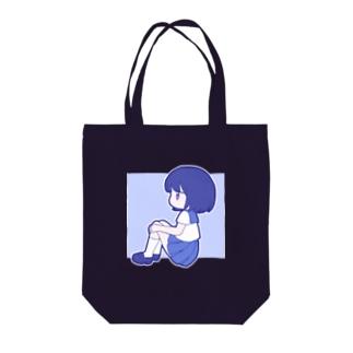 セーラー服ちゃん Tote bags