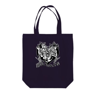 HELL CATS Tote bags